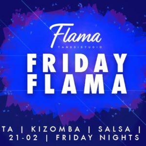 Friday Flama -tanssibileet perjantaina 20.4.