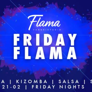 Viikonlopun SuperFlama: pe 13.10 Friday Flama & Roosa nauha -päivä, la 14.10. Afro-Caribbean Workshop ja su 15.10. Salsa & Rumba