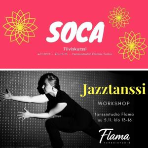 Viikonlopun tiiviskurssit: socan karnevaalitunnelmaa ja jazztanssia