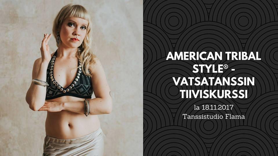 Ensi viikon lauantaina tanssitaan American Tribal Style® -vatsatanssia!
