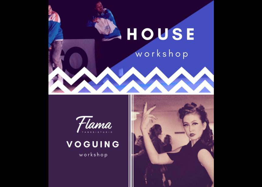 Ensi viikolla upeat voguing ja house -tiivarit Flamalla!