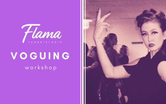 Voguing Intensive Course on Saturday, April 21