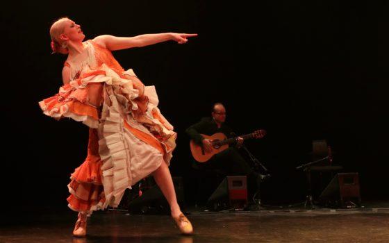 Marja Rautakorven flamenco-viikonloppu Flamassa 26.–27. toukokuuta