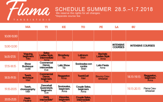June's Schedule is published!