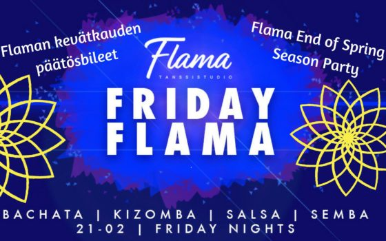 Flama's End of Spring Season Party on this Friday, May 25
