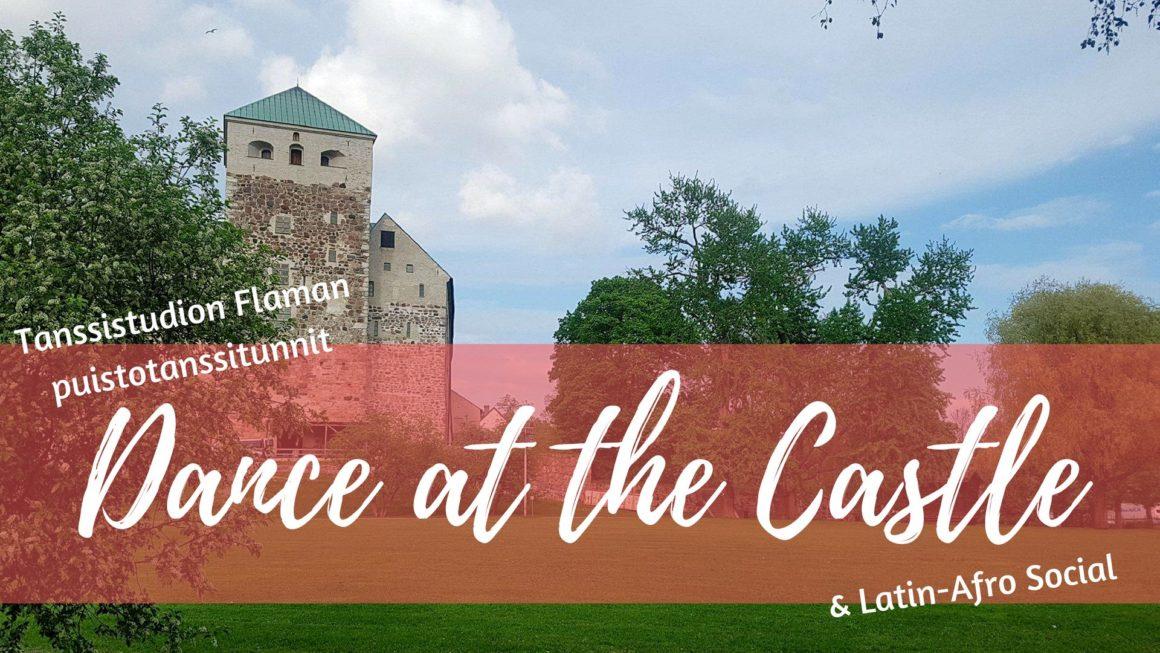 Heinäkuun Dance at the Castle -puistotanssit sunnuntaina 1.7. alkaen