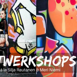 Twerkshops à la Silja Rautanen & Meri Niemi 17.6.