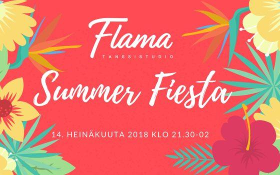 Summer Fiesta lähenee: kesän tanssikohokohta la 14.7.