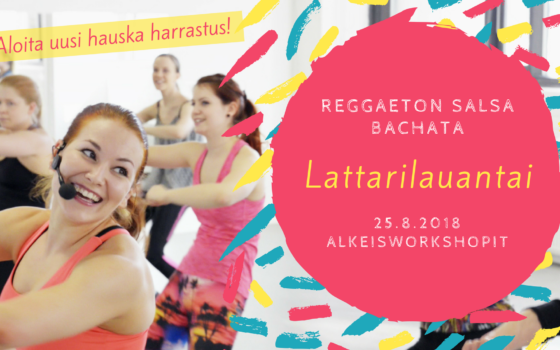 Latin Saturday: Beginners' Reggaeton, Salsa Solo & Bachata Solo on Saturday, January 5