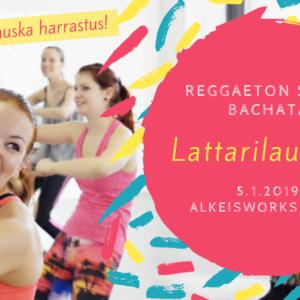Lattarilauantai: reggaetonin, soolosalsan ja -bachatan alkeet la 5 tammikuuta
