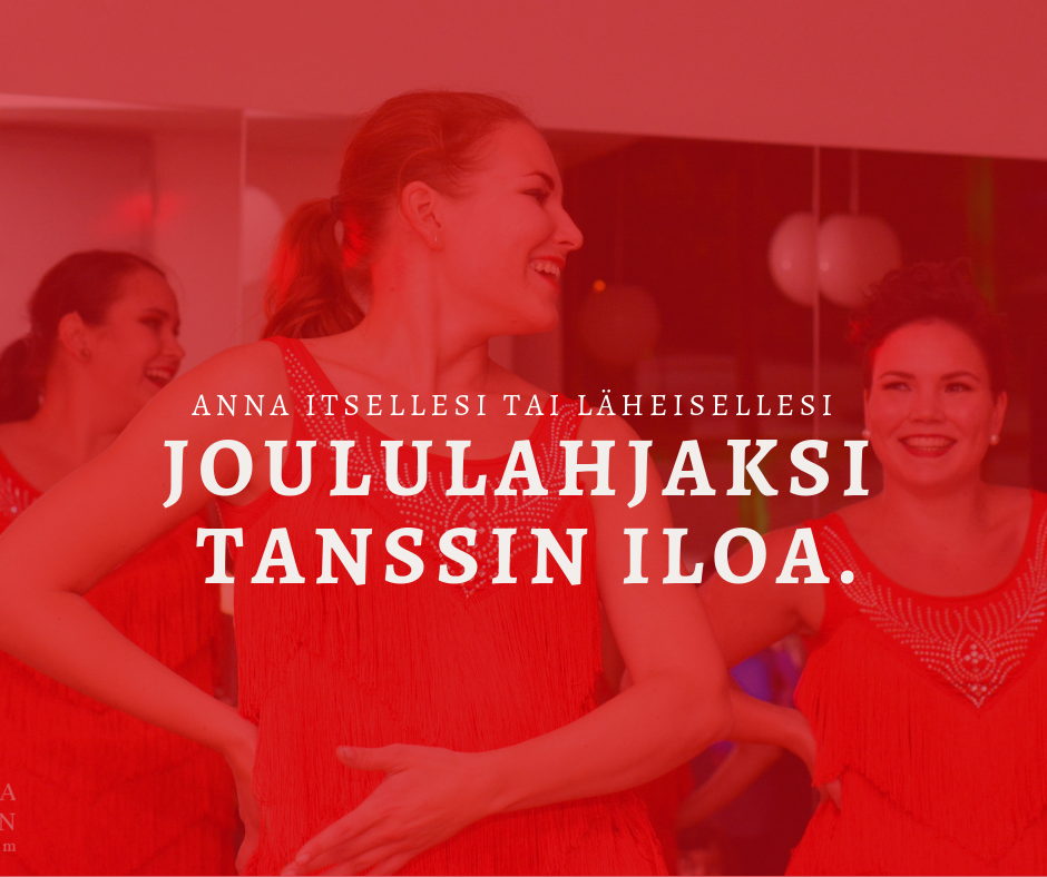 Ilahduta tänä jouluna läheistäsi tanssilahjalla!