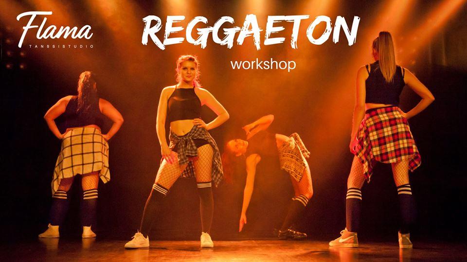 Reggaetonin alkeet -tiiviskurssi sunnuntaina 20. tammikuuta