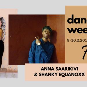 Dancehall Weekend with Anna Saarikivi and Shanky Equanoxx, February 9. – 10