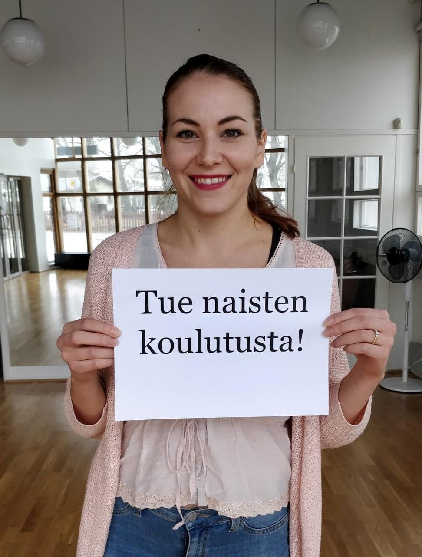 Tue naisten koulutusta naistenpäivänä